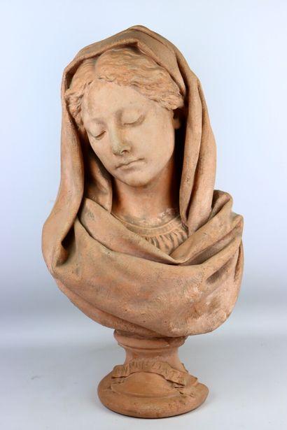 Henri Emile ALLOUARD (1844-1929).  Annunziata....