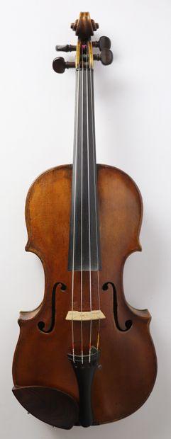 Violon allemand du XVIIIème siècle, attribué...