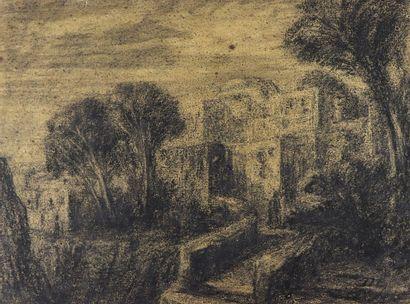 Alexandre Gabriel DECAMPS (1803-1860).  La...