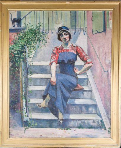 Georgette AGUTTE (1867-1922).  La femme...