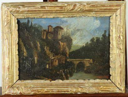 Ecole italienne du début du XIXème siècle....