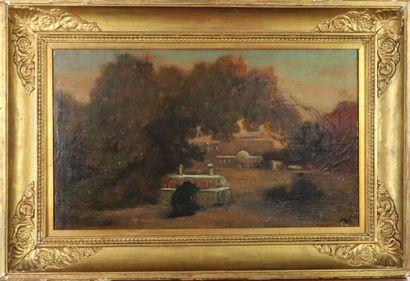 Karl GIRARDET (1813-1871)  Le tombeau du...