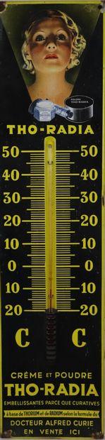 THO-RADIA.  Thermomètre publicitaire rectangulaire...