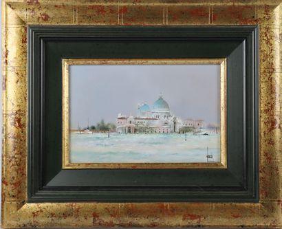 Bernard LOUEDIN (Né en 1938).  Venise, La...