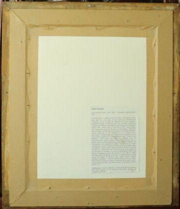 Théodule RIBOT (1823-1891).  Portrait présumé de Saint Nicolas D'Attez.  Aquarelle...