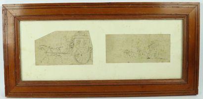Horace VERNET (1789-1863), attribué à.  La...