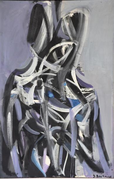 Solange BERTRAND (1913-2011).  Dédoublement....