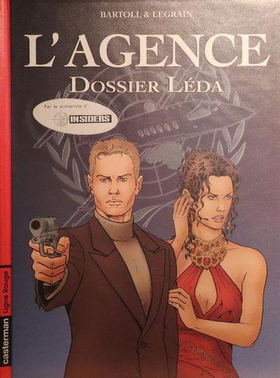 L'Agence.  BARTOLL et LEGRAIN.  Ed. Casterman....