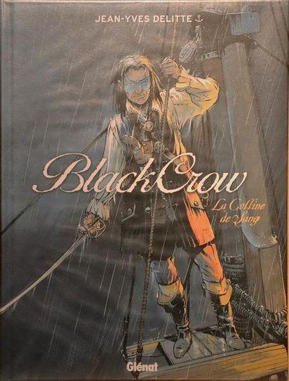 Black crow.  DELITTE, Jean-Yves.  Ed. Glénat....