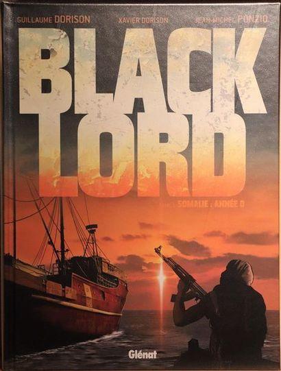 Black Lord.  PONZIO et DORISON.  Ed. Glénat....