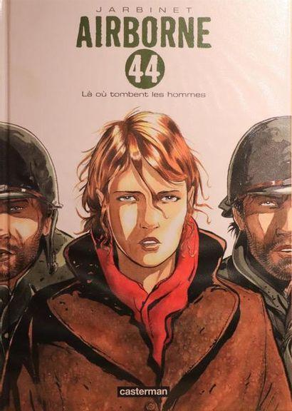 Airborne 44.  JARBINET, Philippe.  Ed. Casterman....