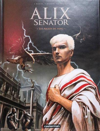 Alix Sénator.  MANGIN et DEMAREZ.  Ed. Casterman....