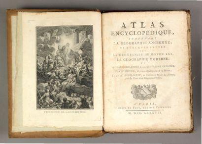 [Atlas] BONNE (Rigobert) & DESMAREST (Nicolas)....