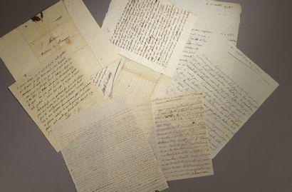 [Neuf lettres des Indes Orientales, adressées...