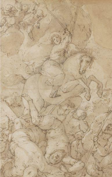 Giovanni Battista CASTELLO, dit Il Bergamasco (1509-1579), attribué à