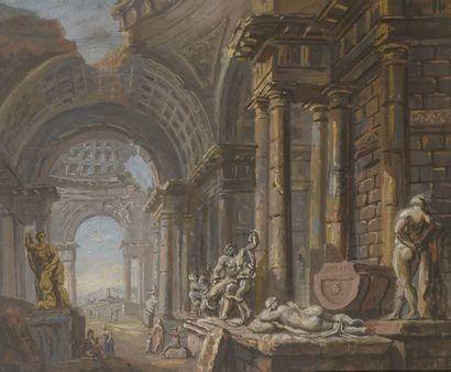 Charles Louis CLERISSEAU (1721-1820), Ecole de
