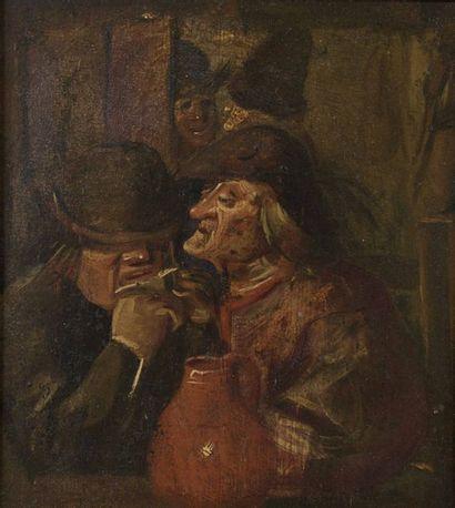 Egbert van HEEMSKERK (1634-1704), entourage de