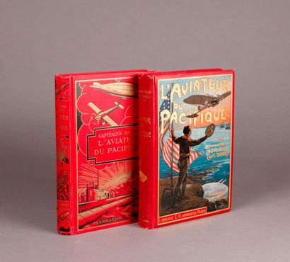 DANRIT. (Two books). THE PACIFIC AVIATOR...