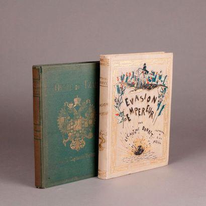 DANRIT. (Two volumes). ESCAPE OF THE EMPEROR...