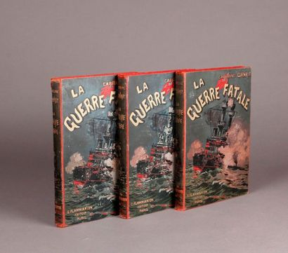 DANRIT. THE FATAL WAR (1901-1902). E. Flammarion....