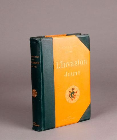 DANRIT. THE YELLOW INVASION (1906). E. Flammarion....