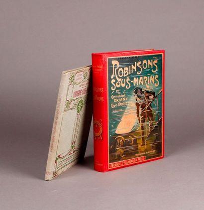 DANRIT. ROBINSON SOUS-MARINS (1908). E. Flammarion....