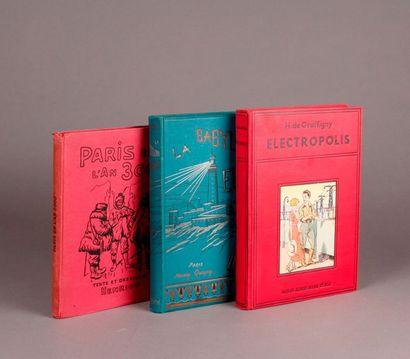 BLEUNARD (A.). (Combination of three books)....