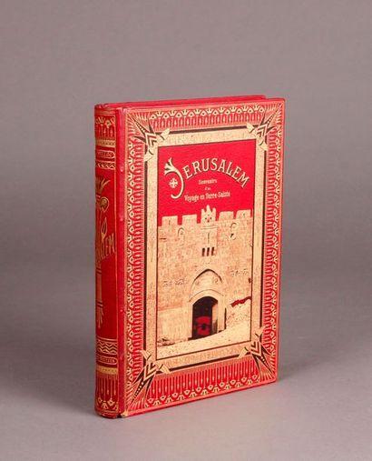 DE BELLOC (J -T.) Jerusalem, souvenirs of...