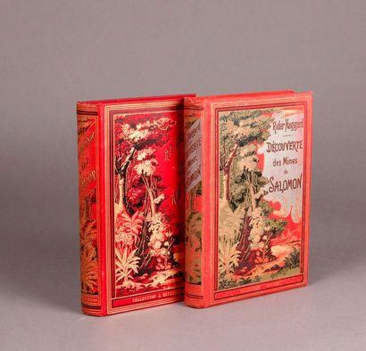 HADGGARD (Sir Henry 1856-1925). (Two works).DECOVERY...