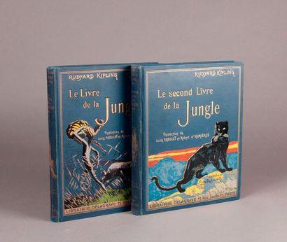 KIPLING (Rudyard 1865-1936). The Jungle Book...