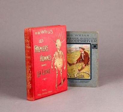 WELLS (Herbert George 1866-1946). (Two books)....