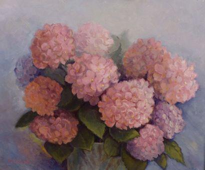 Paulette GREAUME Hortensias