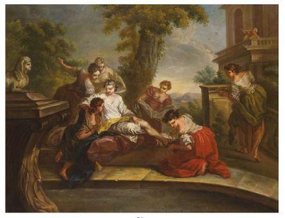 ECOLE de Carle Van LOO (1705-1765)