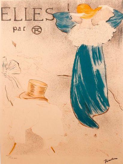 Henri De Toulouse-Lautrec (1864-1901) d'après