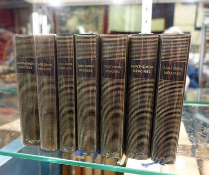 Sept volumes de la Pleïade, Saint Simon.