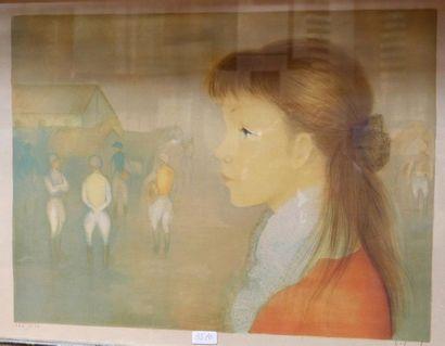Guy SERADOUR (1922-2007)   Jeune fille...