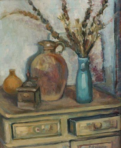 Paulette GREAUME (XXe siècle)  Pichet et...