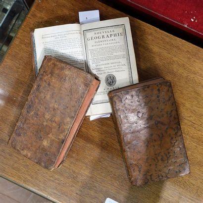 Trois volumes XVIIIe siècle: Mémoires de...