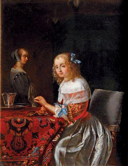 Suite de Frans van MIERIS dit l'Ancien (Leyde 1635 - 1681)