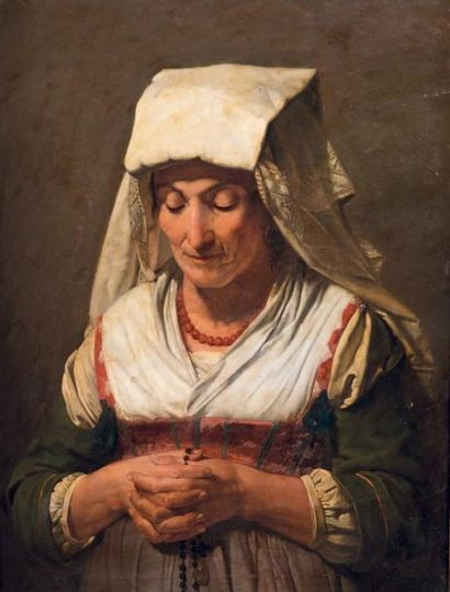 Attribué à Jean Victor SCHNETZ (1787 - 1870)