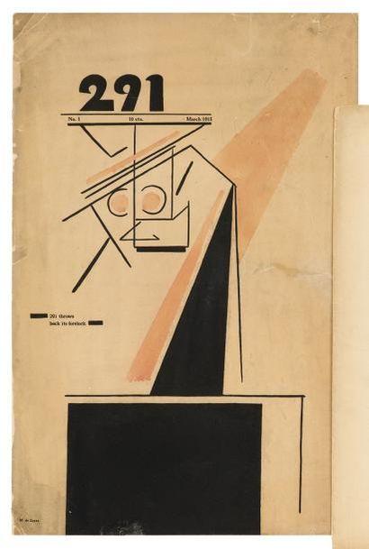 DADA. Revue 291 N° 1 [New York, Alfred Stieglitz],...