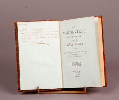 BASSELIN (Olivier, 1403-1470).