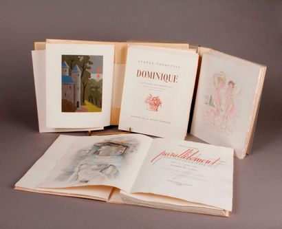 [Combination of three illustrated books]....