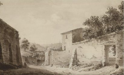Jean-Jacques de BOISSIEU (Lyon 1736-1810), Ecole de.