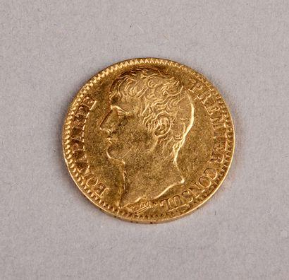 40 FRANCS GOLD PIECE Bonaparte, First Consul,...