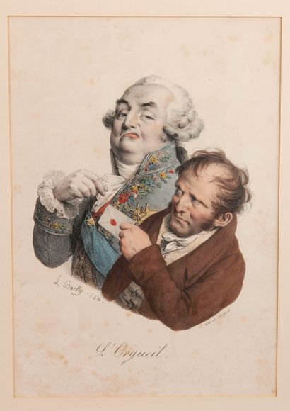 D'après Louis-Léopold BOILLY (1761-1845)