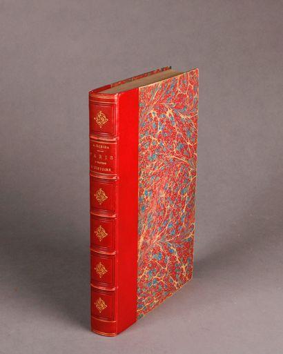Albert ROBIDA Paris through History. Text and illustrations by Robida. Paris, Montgredien...