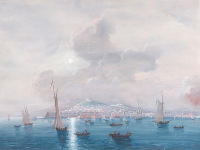 ECOLE NAPOLITAINE Baie de Naples