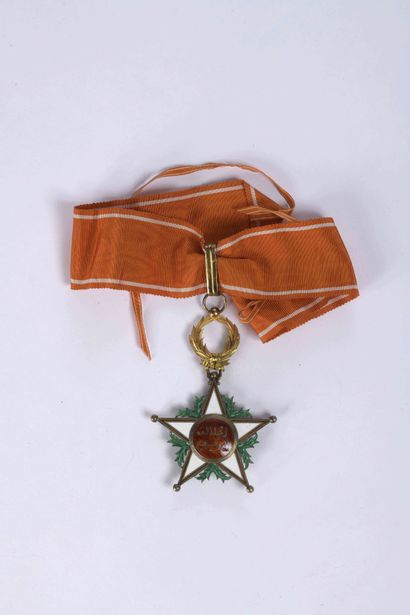 MOROCCO Commander's Star of the Order of...
