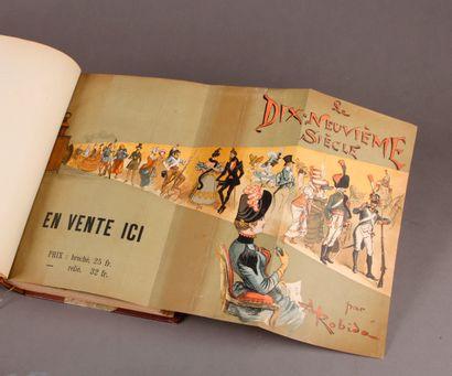 Albert ROBIDA (Three volumes). Le Dix-Neuvième Siècle, 1888. The Twentieth Century,...
